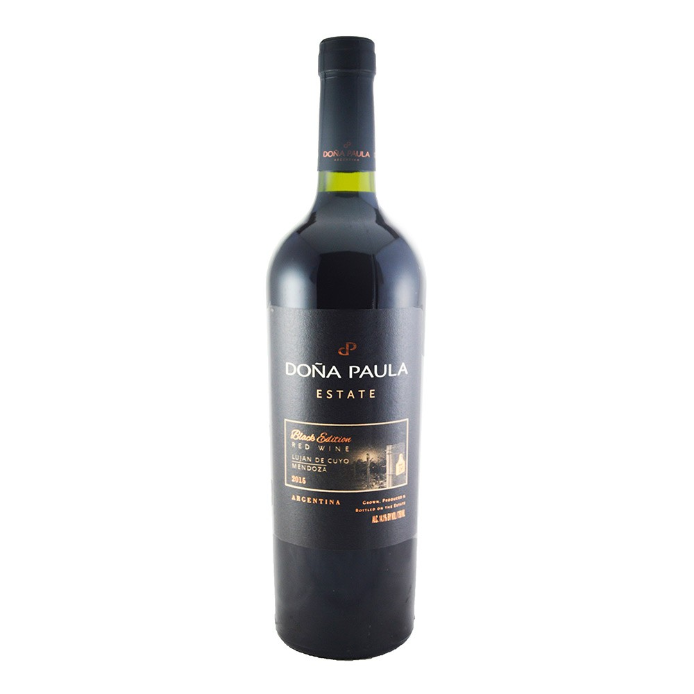 DOñA PAULA ESTATE BLACK EDITION BLEND