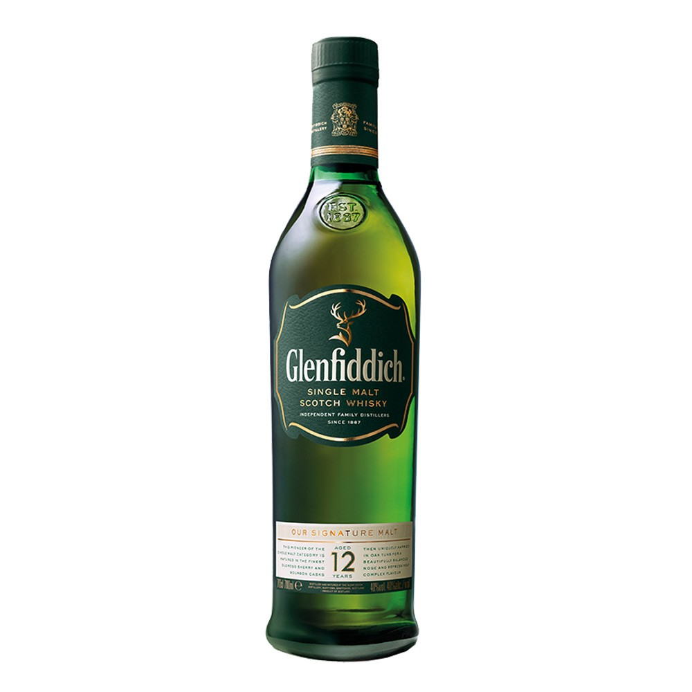 Glenfiddich Single Malt 12 YO 750cc