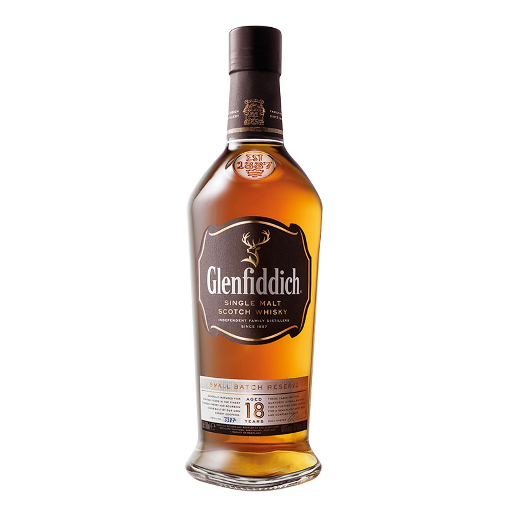Glenfiddich Single Malt 18 YO 750cc