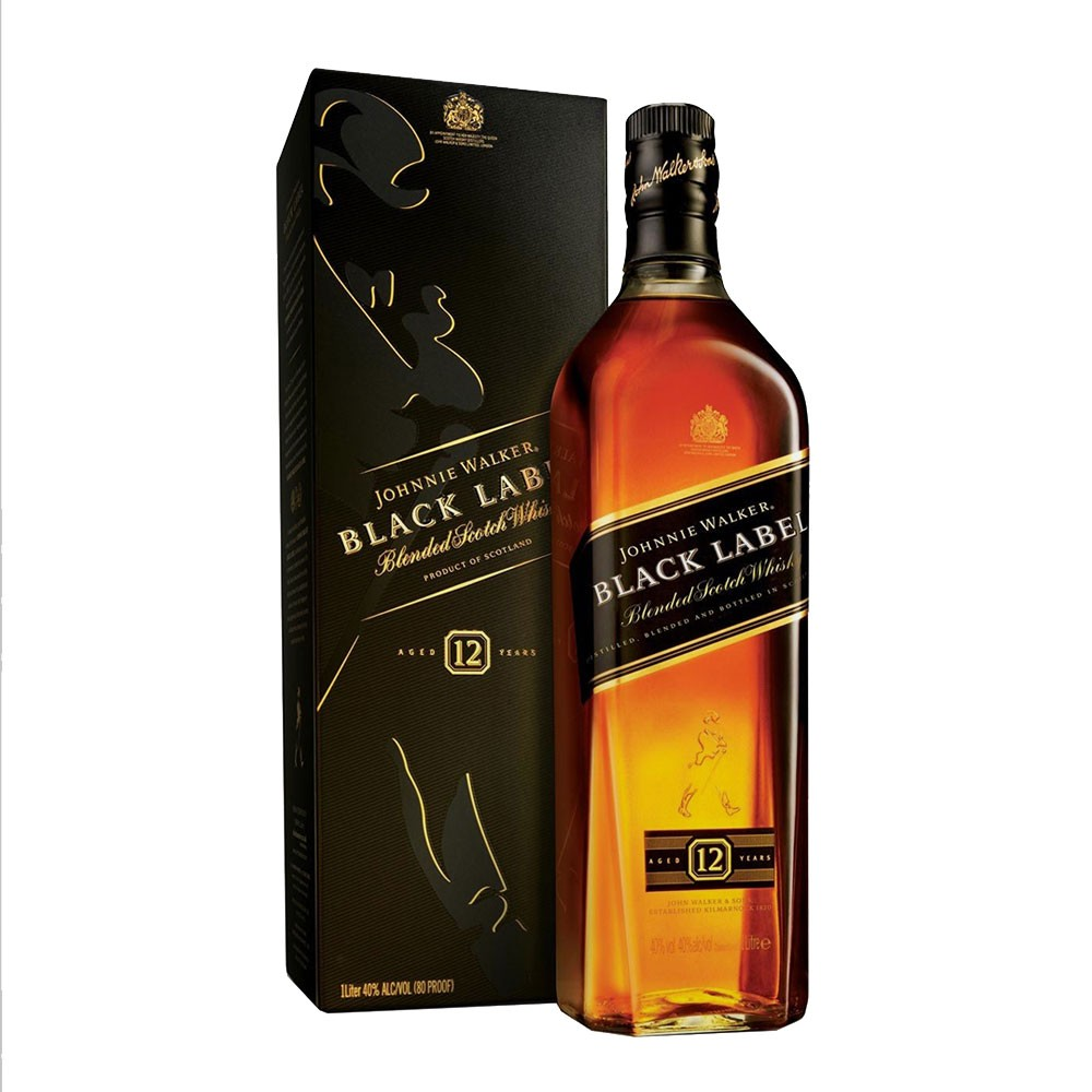 Johnnie Walker Black x 1000ml